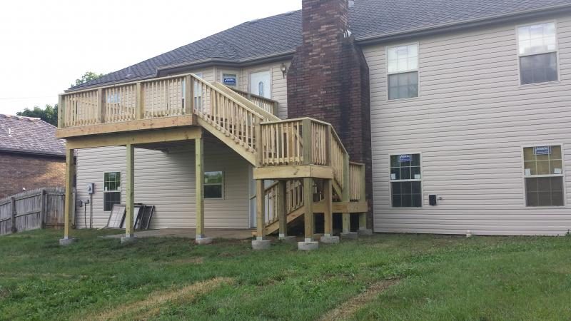 deck stairs 2nd story