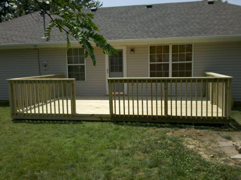 Last deck built on 6/9/2011